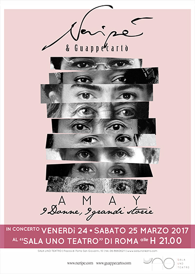 Amay 9 donne 9 grandi storie - al Sala Uno Teatro