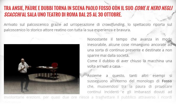 lanouvellevague rassegna stampa come il nero negli scacchi - Paolo Fosso